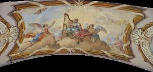 800px-Reichersberg_Stiftskirche_Fresken_König_David_als_Psalmist-Wikimedia Commons