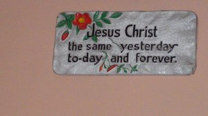 Wall hanging @ my God given house