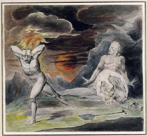 Courtesy: http://commons.wikimedia.org/wiki/File:Blake_Cain_Fleeing_from_the_Wrath_of_God_%28The_Body_of_Abel_Found_by_Adam_and_Eve%29_c1805-1809.jpg