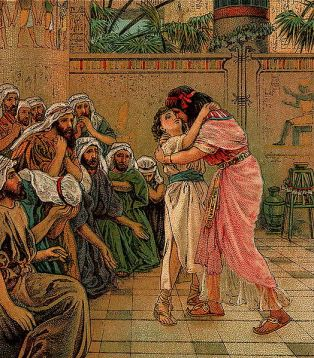 http://commons.wikimedia.org/wiki/File:Joseph_Forgives_His_Brothers.jpg