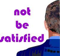 NotBeSatisfied