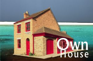 House rented from the CorelDraw X6 library and the backgrounds too.