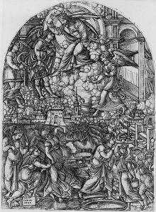 http://commons.wikimedia.org/wiki/File:Jean_Duvet_-_Apocalypse.jpg