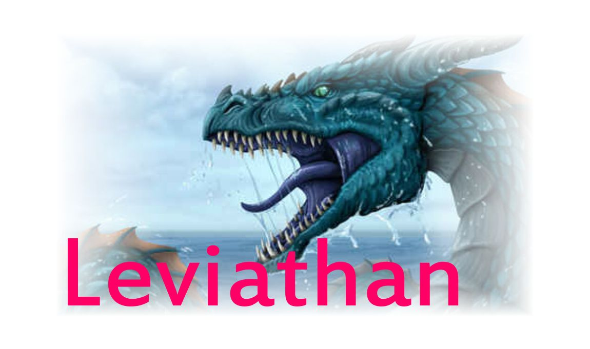 Leviathan Mentioned In The Holy Bible Kjv Tech