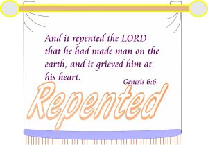 Repented