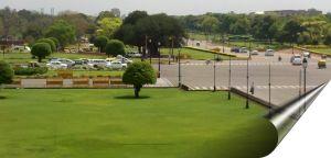 View from Rashtrapathi Bhawan, New Delhi, India